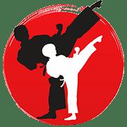 Логотип школы карате